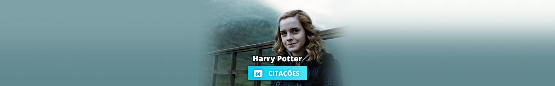15 Melhores frases e citações de Harry Potter