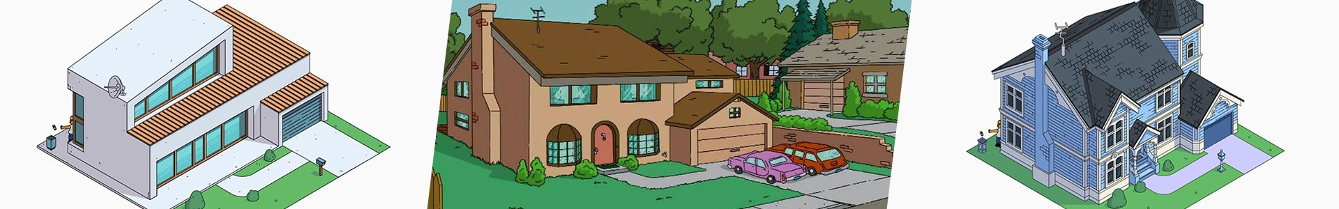 8 redesigns da casa dos Simpsons, do contemporâneo a movimentos artísticos