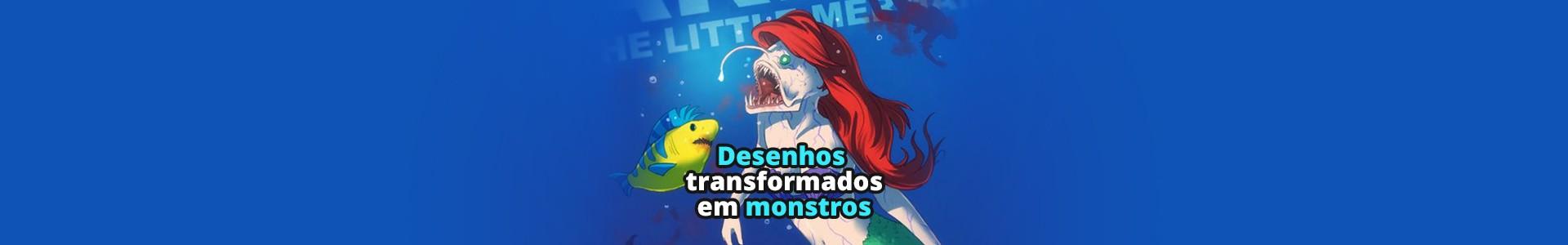 9 Desenhos animados transformados em monstros