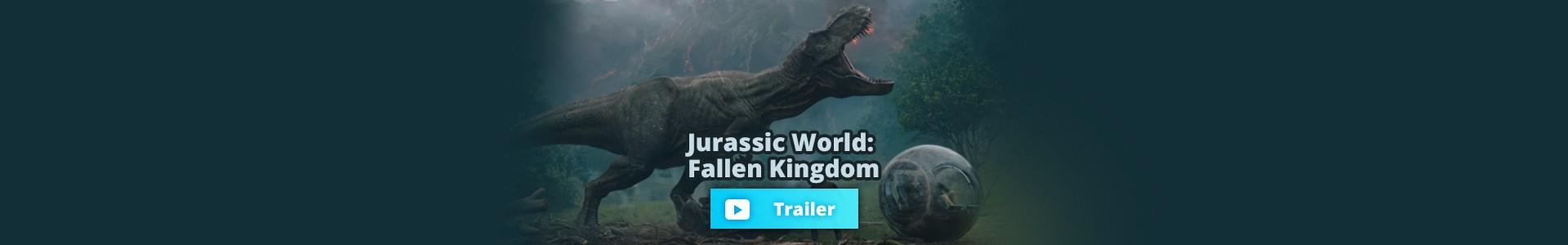 Assista ao novo trailer de  Jurrasic World 2