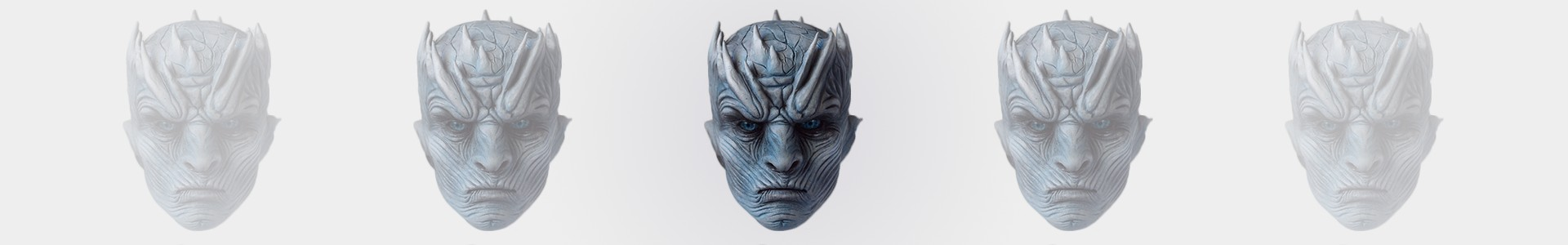 Criando o The Night King de Game Of Thrones com argila