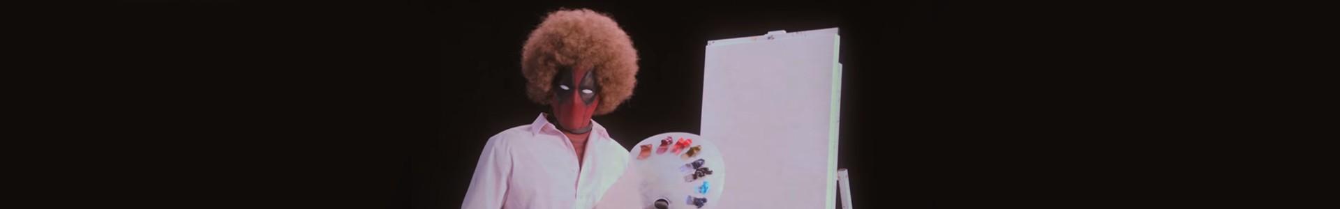 Deadpool 2: 1º teaser com aula de pintura, assista