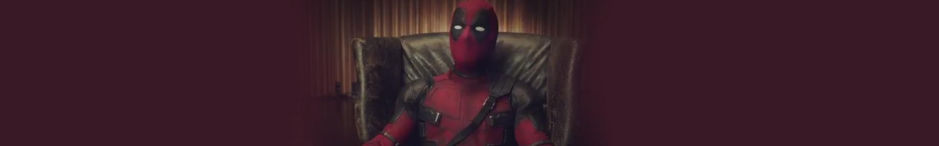 Deadpool falando português em vídeo promocional para CCXP