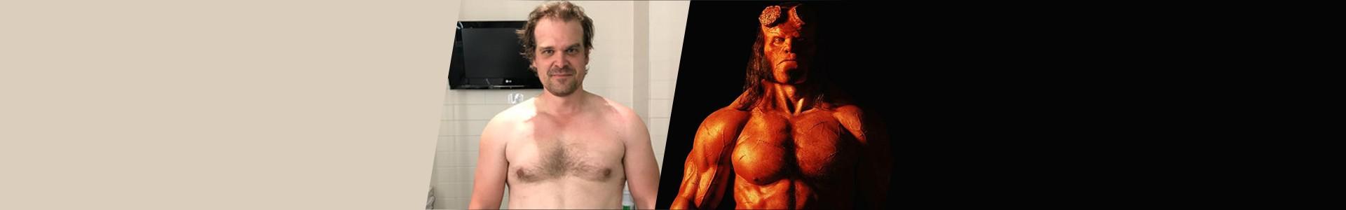 Hellboy: A transformação de David Harbour de Stranger Things