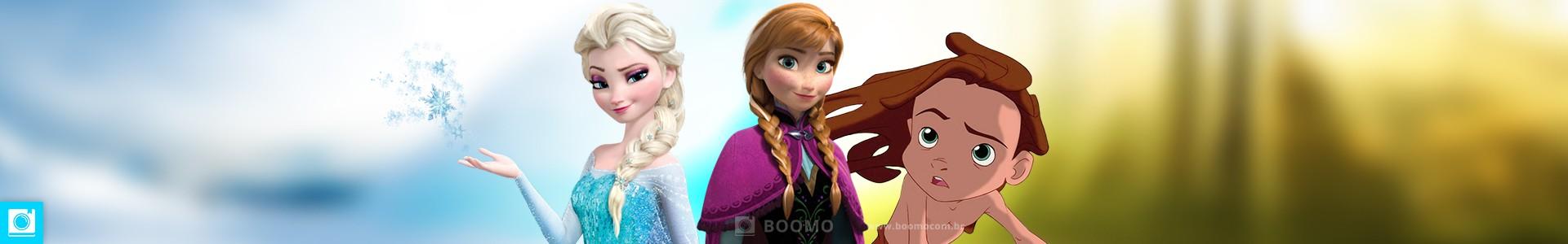 Tarzan é irmão das princesas Elsa e Anna de Frozen?