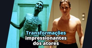 9 transformações impressionantes que atores fizeram por um papel