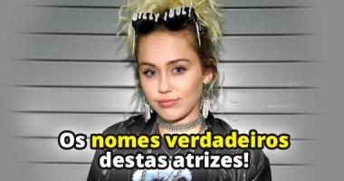 7 atrizes que não usam seus nomes reais