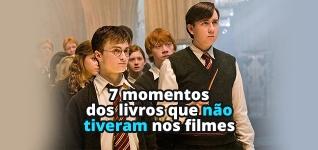 7 momentos dos livros de Harry Potter que não aconteceram nos filmes