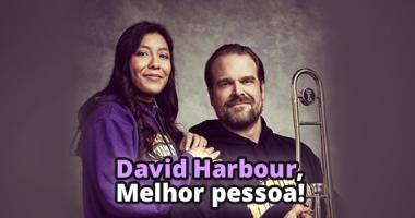 David Harbour de Stranger Things é a melhor pessoa
