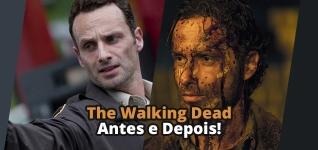Elenco de The Walking Dead antes e depois, a mudança é surpreendente