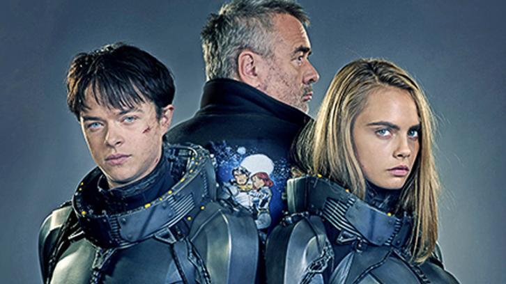 Valerian: Cara Delevingne e Dane DeHaan nas primeiras imagens exclusivas do filme