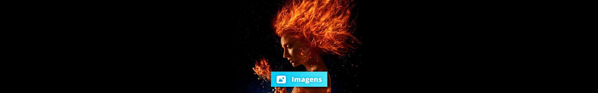 X-Men: Fênix Negra: Primeiras imagens com Sophie Turner pegando fogo